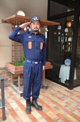 新入団員紹介(2)伊万里市消防団大川内分団第3部 畑石修嗣さん 31歳