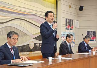 諫早基金案、佐賀県知事も追認 県漁協の方針支持