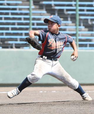 基山ファイターズ、隙なし NTT杯少年野球