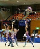 神埼ジュニアクラブが7連覇 新体操・かささぎ杯ジュニア
