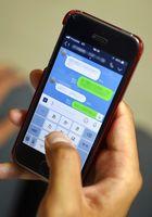 対話アプリLINEの画面。SNSの利用に絡んで若い世代が犯罪の加害者や被害者になるケースが県内でも後を絶たない(イメージ写真)
