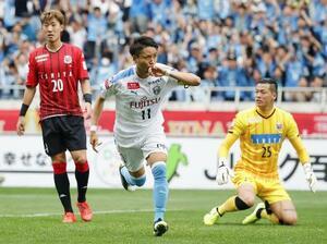 昨年10月に行われたルヴァン杯決勝、札幌―川崎戦=埼玉スタジアム