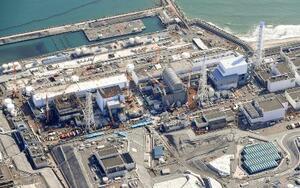 廃炉作業が続く東京電力福島第1原発=2月21日
