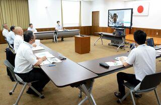 オンライン授業の取り組み推進確認 ICT利活用検討委