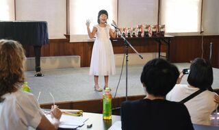【動画】小中生、英語力競う、課題文や作文暗唱 3教室合同コンテスト