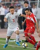 サッカー日本、タジクに快勝