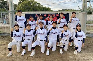 <頑張れ!中学総体>大町ひじり学園野球部へ