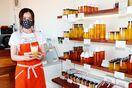 <TOPICS>県産の蜂蜜や生ローヤルゼリー 岩松養蜂店