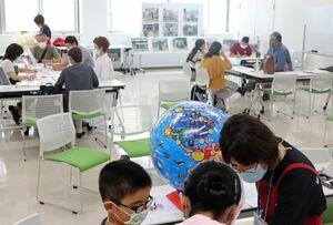 8月に佐賀市青少年センターで開催された夏休みサポート&体験会