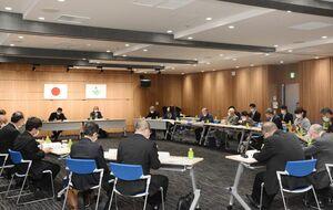 水源地域の振興策などを考える検討委員会=神埼市脊振町の交流センター