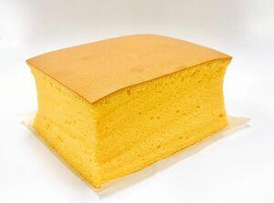 スフレケーキのような軽い口当たりが魅力的な城月堂の「台湾カステラ」756円