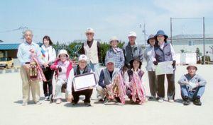 高木瀬体育協会競技大会・ゲートボールの入賞チーム