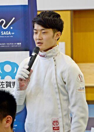 古田(フェンシング)、「国スポけん引したい」