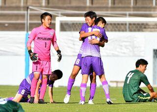 龍谷、県総体の屈辱バネに 全国高校サッカー佐賀大会