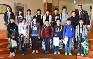 北山小学校5、6年生 14名