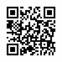 企画コンテストのサイトのQRコード