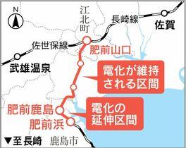 <新幹線長崎ルート>並行在来線の…