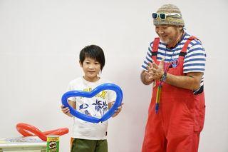 佐賀大病院の小児病棟で夏祭り