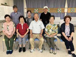 佐賀江北ビッキー支部スポーツ吹矢6月定例会の上位入賞者