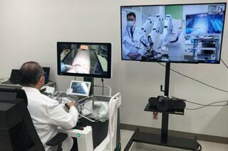 弘前大、遠隔ロボ手術の実験開始