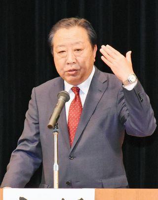 来援語録 民進出身・野田前首相
