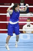入江、ボクシング女子初の金