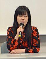 NPO法人「ワールドオープンハート」の阿部恭子理事長=佐賀市のアバンセ