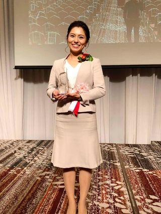 松尾さん九州1位 若い経営者の主張