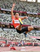 橋岡優輝、走り幅跳び6位