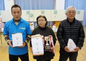 佐賀ヤマトスポーツ吹矢クラブ1月例会 個人戦入賞者