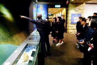 台湾市内を視察 日本の技術に誇り