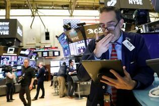 NY株、過去最大の下げ幅