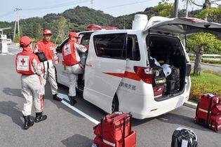 救護班を広島県に派遣 日赤佐賀県…