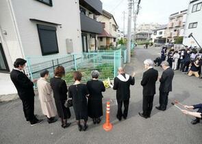 川崎20人殺傷、追悼の祈り