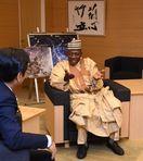 ナイジェリア駐日大使「再生エネ通じ絆を」