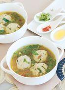 レシピ「菊芋団子の中華スープ」