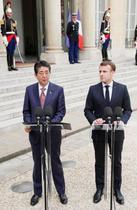 日仏、G20へ経済、環境で連携