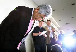 日大アメフット部監督が辞任表明