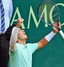 テニス、杉田が世界7位倒し8強