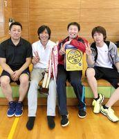 第59回佐賀市ミニバレーボール交流大会 男子優勝のYFC