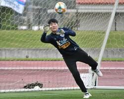AC長野パルセイロに期限付き移籍すると発表されたGK金珉浩