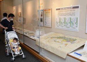 絵図など40点の資料で水との共生を考える企画展「武雄の災害と治水」=武雄市図書館・歴史資料館