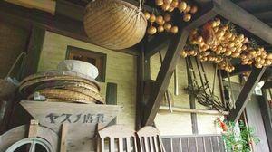 三瀬村の農家民宿を紹介するシーン