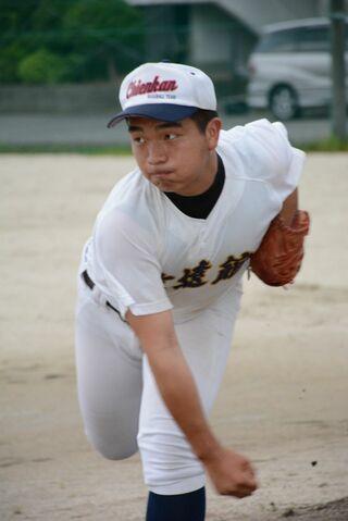 <SSP杯 高校野球>致遠館 主戦居石、光る制球力