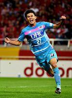 昨季4得点を挙げた田川亨介。プロ2年目の今季は二桁得点を目指し、全力を尽くす