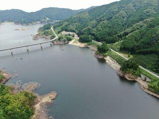 <空さんぽ~さが今昔物語(14)>湖底に眠る歴史ある集落 五ケ山ダム(吉野ヶ里町)