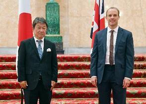 日英新貿易協定の重要性確認