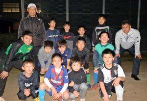 江北少年サッカークラブの子どもたち