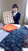寄付とともにたんすに眠っていた着物や帯の提供も=唐津商工会議所