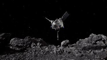 「米版はやぶさ」小惑星に着陸